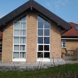 Tilbygning af hus på Askevænget